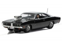 Scalextric Dodge Charger Nera Modellino Slot Car