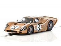 Scalextric Ford GT MKIV n.3 24 ore Le Mans 1967 Modellino Slot Car