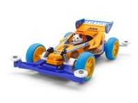 Tamiya Mini 4WD Racing Series Cat Racer Kit di Montaggio