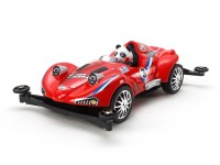 Tamiya Mini 4WD Racing Series Panda Racer 2 Kit di Montaggio