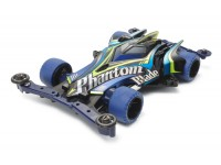 Tamiya Mini 4WD Aero Series Phantom-Blade Black Special Kit di Montaggio
