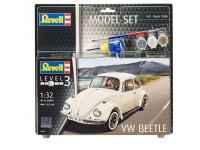 Revell Volkswagen Maggiolino Model Set con Colori