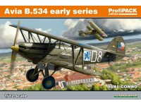 Eduard Avia B-534 early series DUAL COMBO Aereo in Kit 1/72