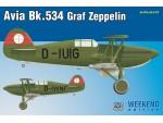 Eduard Avia Bk-534 Graf Zeppelin Aereo in Kit 1/72
