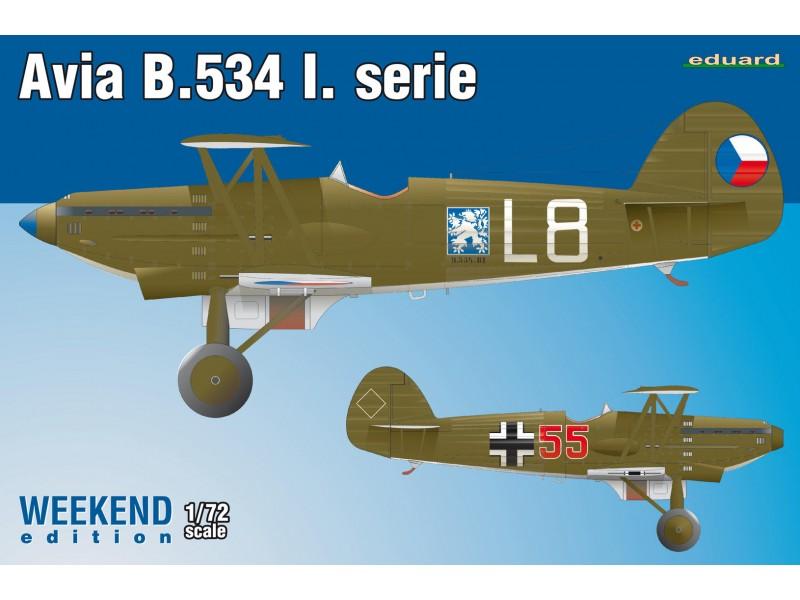 Eduard Avia B-534 I. serie Aereo in Kit 1/72