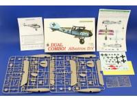 Eduard Albatros D. V DUAL COMBO Aereo in Kit 1/48