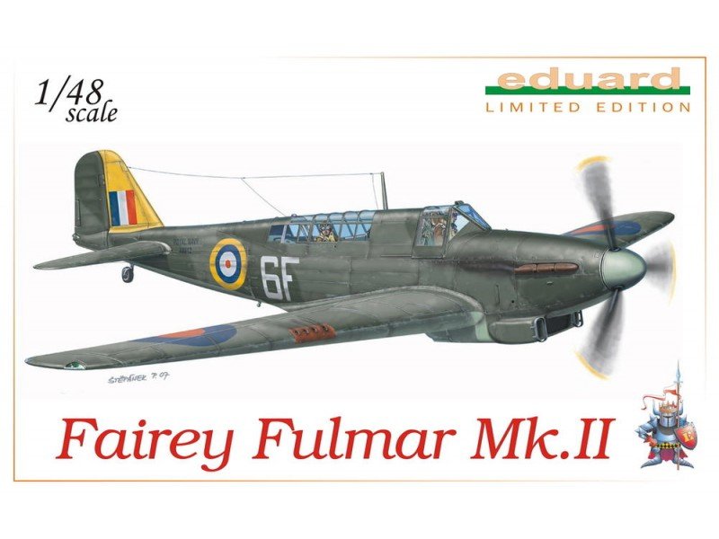Eduard Fairey Fulmar Mk. II Kit di Montaggio 1/48