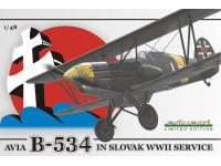 Eduard Avia B-534 Kit di Montaggio 1/48