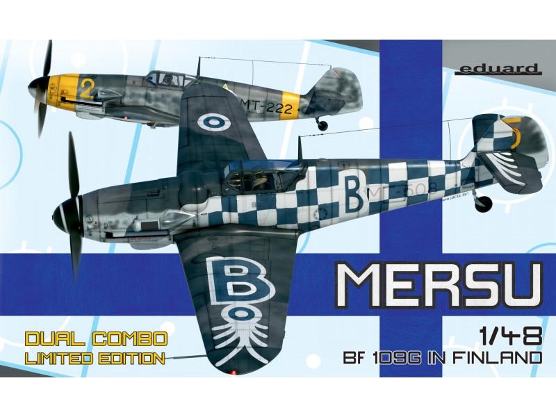 Eduard Bf 109G Dual Combo Kit di Montaggio 1/48