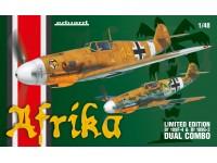 Eduard Bf 109F-4 e Bf 109G-2 Kit di Montaggio 1/48