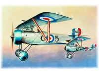 Eduard Nieuport Ni-17 R. F. C. Aereo in Kit 1/48