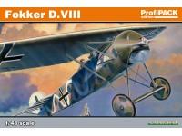 Eduard Fokker D. VIII Edizione Profipack Aereo in Kit 1/48