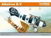 Eduard Albatros D. V Edizione Profipack Aereo in Kit 1/48