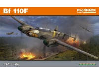 Eduard Messerschmitt Bf 110F Aereo in Kit 1/48