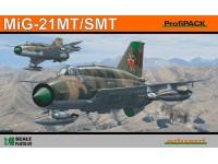 Eduard Mikoyan-Gurevich MiG-21 SMT Aereo in Kit 1/48