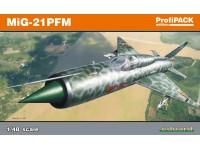 Eduard Mikoyan-Gurevich MiG-21PFM Aereo in Kit 1/48