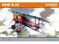 Eduard SSW D. III Aereo in Kit 1/48 Riedizione