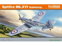 Eduard Spitfire Mk. XVI Bubbletop Aereo in Kit 1/48