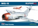 Eduard MiG-15 DUAL COMBO Kit di montaggio 1/144