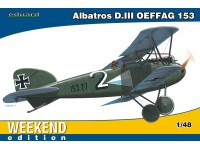 Eduard Albatros D. III OEFFAG 153 Aereo in Kit 1/48 Weekend Edition