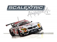 Scalextric Autograph Series BMW Z4 GT3 Team AMD Lee Mowle Modellino Slot Car