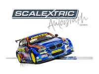 Scalextric Autograph Series BMW Series 1 NGTC Andy Jordan Modellino Slot Car