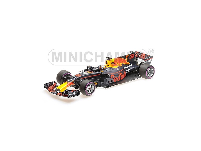 MINICHAMPS 1/18 RED BULL RACING RB13 DANIEL RICCIARDO GP MESSICO 2017 MODELLINO