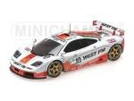 MINICHAMPS 1/18 McLAREN F1 GTR WEST COMPETITION 24H LE MANS 1995 MODELLINO