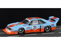 Ford Mustang turbo n.21 Gulf Historical Colors Limited Edition Sideways Slot Cars