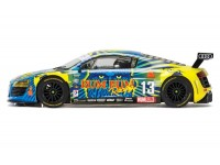 Scalextric 1/32 Audi R8 LMS Rum Bum Racing Modellino Slot Car