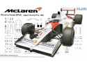 Fujini 1/20 mclaren honda mp4/6 gp giappone 1991 modellino in kit
