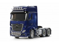 Tamiya 1/14 kit camion RC Rc Mercedes-Benz Actros 3363 6X4 Gigaspace Blu Perla