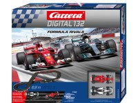 Carrera Digital 132 Pista Elettrica Digitale Formula rivals Vettel vs Hamilton