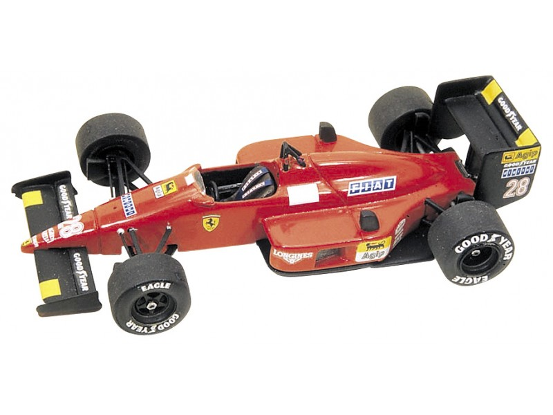 FERRARI F1/87 GP GIAPPONE 1987 TAMEO KITS IN METALLO 1/43