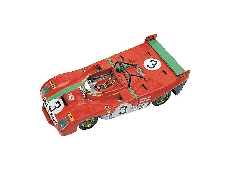 FERRARI 312PB Sport TARGA FLORIO 1972 TAMEO KITS IN METALLO 1/43
