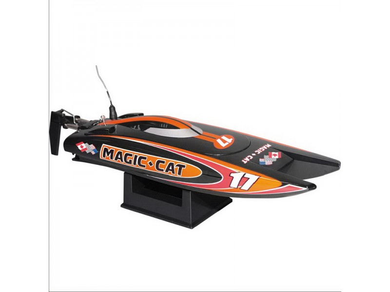 Joysway Catamarano da velocità Magic Cat Radiocomandato