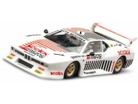 Slot Car Bmw m1 500 km Fuji 1982 n.8 Scaleauto