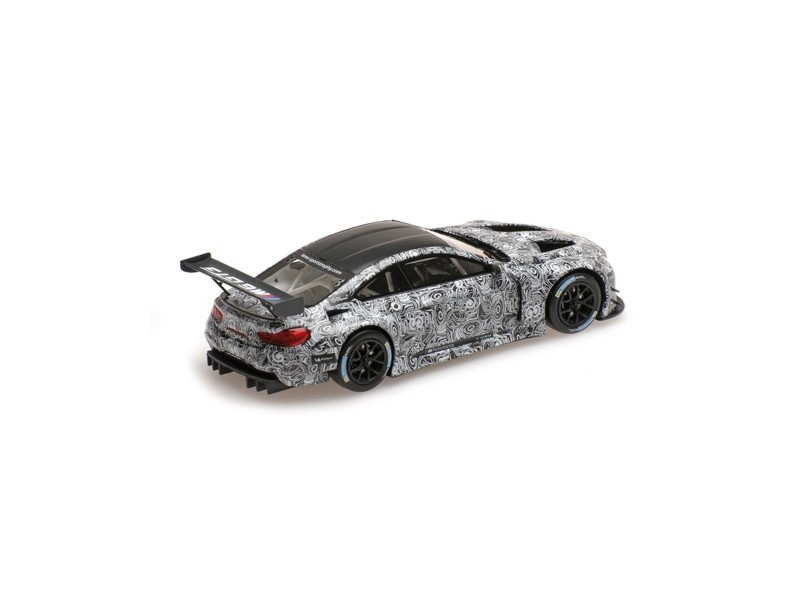 MINICHAMPS 1/43 BMW M6 GT3 PRESENTAZIONE SPA 2015 MODELLINO