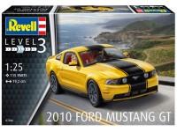 Revell 1/25 Ford Mustang GT 2010 Modello in kit di Montaggio