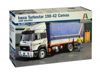Italeri 1/24 iveco turbostar 190-42 canvas with elevator kit di Montaggio