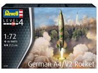 Revell 1/72 Razzo A4/V2 Modello in kit di Montaggio