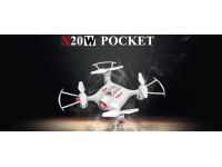 Drone SYMA X20W RC Quadricottero 0.3MP Camera 4 canali 2.4 GHz