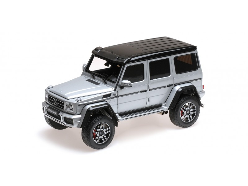 ALMOST REAL 1/18 MERCEDES BENZ G500 4X4² ARGENTO MODELLINO