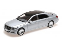 ALMOST REAL 1/18 MERCEDES BENZ S-CLASS MAYBACH 2016 ARGENTO IRIDIO MODELLINO