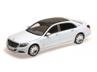 ALMOST REAL 1/18 MERCEDES BENZ S-CLASS MAYBACH 2016 BIANCO DIAMANTE MODELLINO