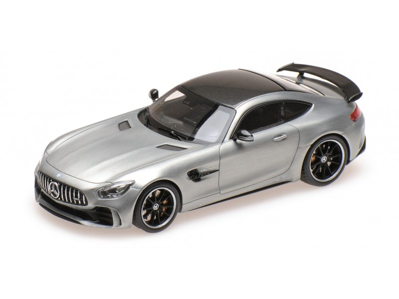 ALMOST REAL 1/43 MERCEDES AMG GT R ALLOY 2017 MODELLINO