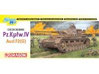 Dragon 1/35 Pz.Kpfw.IV Ausf.F2(G) modello in kit di montaggio