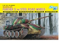 Dragon 1/35 Panther G w/Steel Road Wheels modello in kit di montaggio