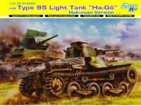 "Dragon 1/35 IJA Type 95 ""Ha-Go"" Hokuman Version modello in kit di montaggio"