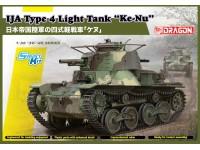 "Dragon 1/35 IJA Type 4 Light Tank ""Ke-Nu"" modello in kit di montaggio"